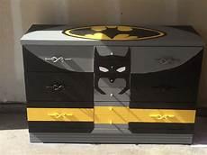 batman dresser with chalkboard paint batman decor batman bedroom decor batman bedroom