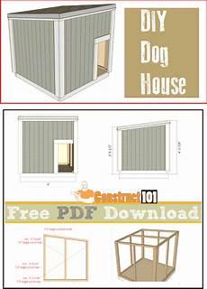 dog house plans insulated large dog house plans pdf download construct101 pdf
