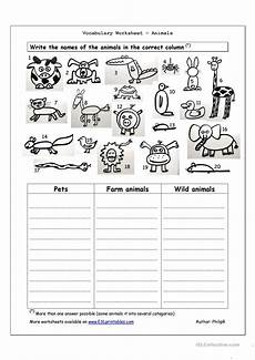 animals worksheets printable 14006 vocabulary worksheet animals worksheet free esl printable worksheets made by teachers