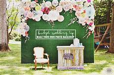 diy photo booth backdrop knock it off wedding
