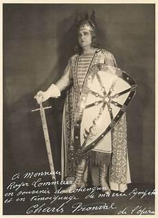 Forgotten Opera Singers Charles Fronval Tenor La