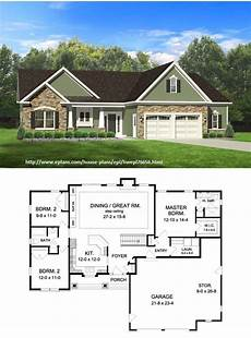 eplans ranch house plan 1598 square feet and 3 bedrooms