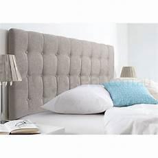 maddison beige upholstered king headboard buy size