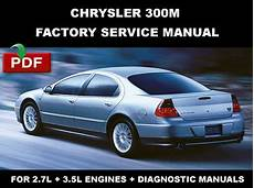 car repair manuals online pdf 1999 chrysler 300 parking system purchase chrysler 300m 1999 2000 2001 2002 2003 2004 factory service repair fsm manual