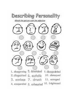 describing personality esl worksheet by natasha333333