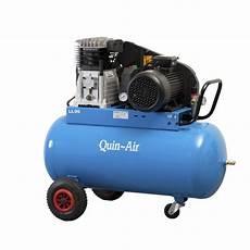 kompressor med 4 hk og 90 liter tank 400v