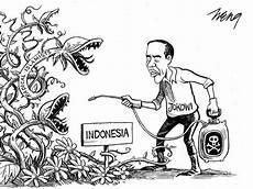Perlawanan Jokowi Ke Islam Radikal Jadi Karikatur Di New