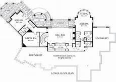 one level house plans with walkout basement walkout lower level house plans luxury house plans