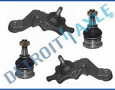 1995 toyota tacoma ball joint replacement brand new 4pc front upper and lower ball joint set for 1995 2004 toyota tacoma ebay