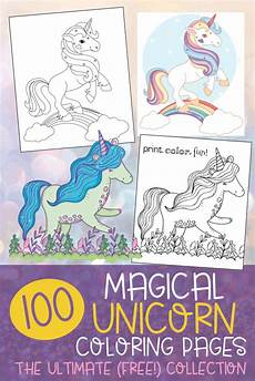 Unicorn Malvorlagen Mp3 Top 100 Magical Unicorn Coloring Pages The Ultimate Free