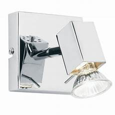 endon endon el 10049 1 light modern wall spotlight polished chrome finish adjustable head