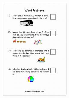 addition and subtraction word problem worksheet for grade 1 11295 addition and subtraction word problems worksheets for kindergarten and grade 1 story sums