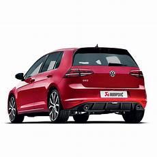 Akrapovic Evolution Race Exhaust Volkswagen Golf Mk7 Gti