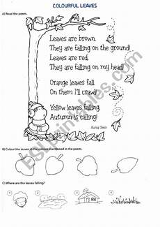 poetry analysis worksheet to autumn 25532 autumn poem esl worksheet by ericaakd
