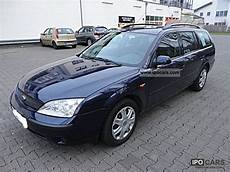 2002 ford mondeo 1 8 turnier trend car photo and specs