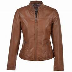 leather jacket cognac kasia womens leather jackets