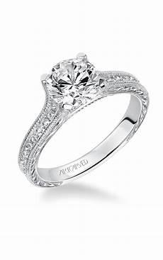 artcarved vintage engagement ring 31 v511frw e