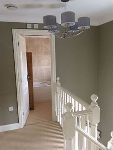i painted my clients hall stairs and landing in farrow