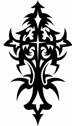8 tribal cross designs and stencils