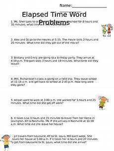 elapsed time worksheets 5th grade word problems 3290 elapsed time word problems time word problems elapsed time word problems math time