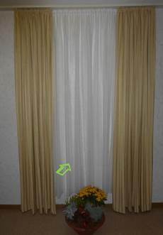 gardinenking gardine store natur gestreift h 246 he 160 cm