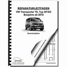 vw transporter multivan t6 ab 2015 schaltplan