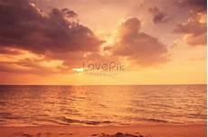 Gambar Matahari Terbenam Di Pantai Kartun