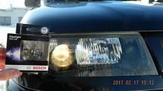 ночной тест ламп bosch gigalight plus 120 h1