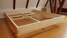 Diy Massivholz Bett Selber Bauen