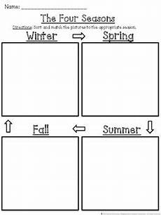 seasons worksheets cut and paste 14760 pin on غغ