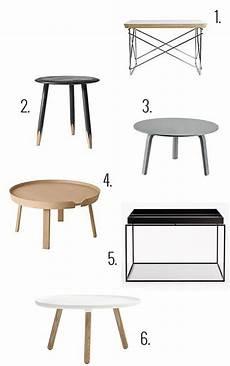 Skandinavisches Design M 246 Bel Couchtisch Rund Couchtische