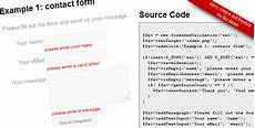forms and validation by christophdb codecanyon