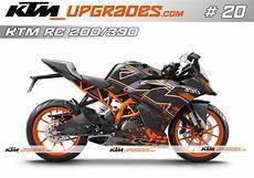 ktmupgrades custom decal set no 20 for rc 125 200 390