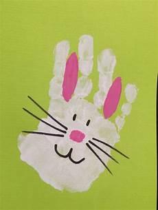 Handabdruck Bilder Frühling - osterkarten friedas handabdruck fr 252 hling
