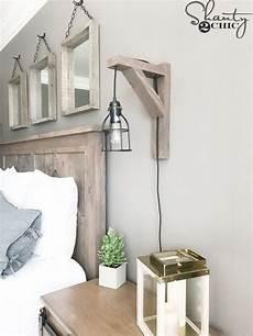 diy rustic corbel sconce light for 25 farmhouse ls bedroom ls bedroom lighting