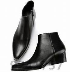 2019 herrenschuhe business stiefel stiefeletten in schwarz