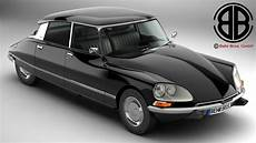 Citroen Ds 23 Pallas 3d Model Buy Citroen Ds 23 Pallas