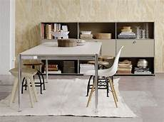 usm haller dining table height adjustable table by usm