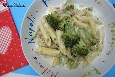 brokkoli sahne soße nudeln pasta meine stube