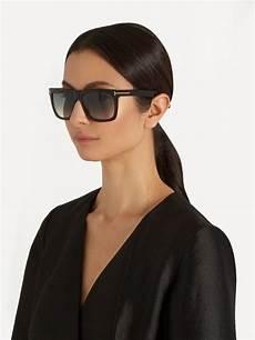 tom ford eyewear flat top sunglasses sunglasses