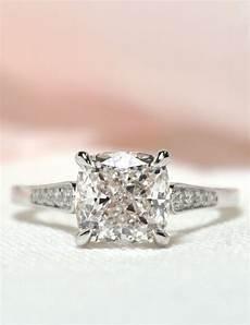 custom cushion cut diamond engagement ring joseph