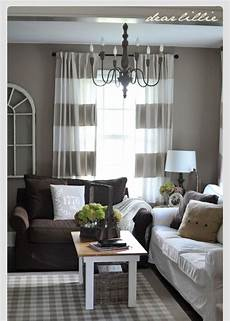 Home Decor Ideas For Grey Walls by Beautiful Grey And Brown Decor Loving The Grey Curtains