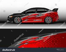 Car Decal Graphic Vector Wrap Vinyl Sticker