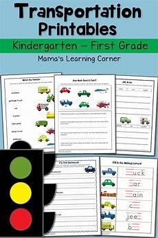 transportation worksheets preschool 15223 transportation worksheets for kindergarten and grade mamas learning corner