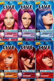 rote haarfarben palette new schwarzkopf live hair color ultra brights vibrant