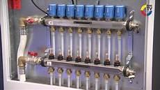 heizkörper anschließen anleitung uponor vorgefertigte heizkreisverteiler