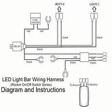 led light bar wiring harness diagram diagram stream