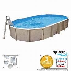 6 10 X 3 60 X 1 32 M Ovalpool Center Pool Oval Freistehend