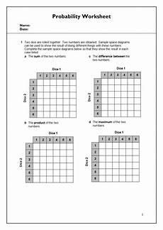 probability worksheet igcse 5803 probability worksheet igcse mathematics teaching resources