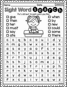 sight word searches for use with kindergarten journeys tpt